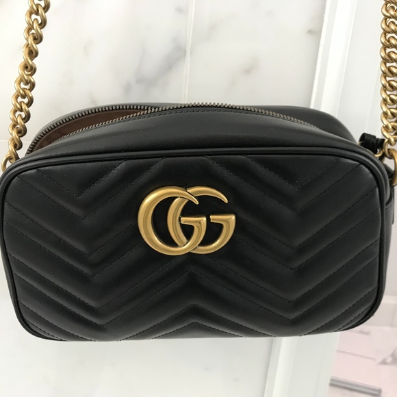 457dde17fbc6 Gucci Bags | Gg Marmont Small Matelasse Shoulder Bag | Poshmark